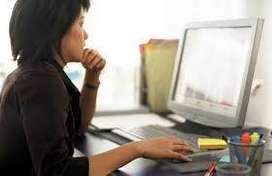 data entry work typing work at home vacancy avilablel