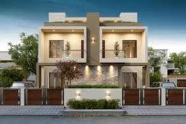 Brand New Booking of Luxurious Duplex/Bunglows Nr.Big Bazzar-JJESTATE