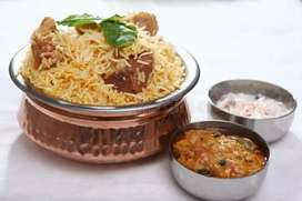 I want Chinese and biryani master for our take away restaurant