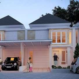 Rumah murah harga 389jt type 63/90 sisa 1 unit