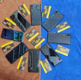 Huawei p20 pro 6gb 128gb 2sim Pta approved patch life Time Waranty
