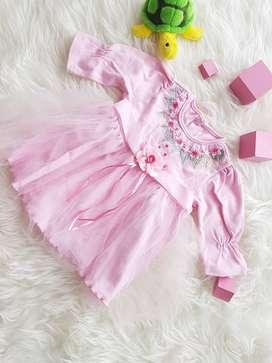 Pink Dress Size S
