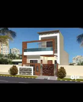 110 yards kothi for sale in suraj Avenue.