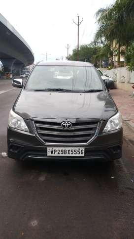 Toyota Innova 2.5 G (Diesel) 7 Seater BS IV, 2014, Diesel