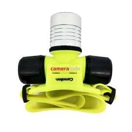 Camelion S67 Diving headlight underwater actioncam gopro