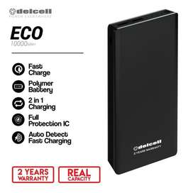 Powerbank Delcell ECO 10000mah - Slim - Real Capacity