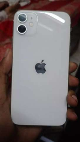 iPhone 11 128 white colour 2 month old