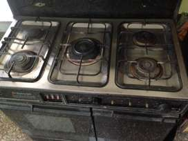 Used gas cooking range