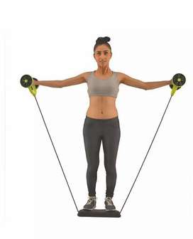 Revoflex ABS exerciser and muscles builder