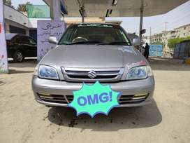 Suzuki Cultus Limited Edition model 2017 CNG not applied