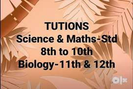 Tuitions/ Coaching classes with personal Attention.