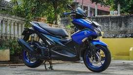 Yamaha Aerox R Version 2017 Racing Blue