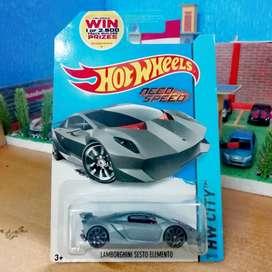 Hot Wheels hotwheels Lamborghini Sesto Elemento US CARD Need For Speed