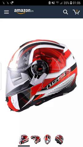 Branded LS2 modular helmet ff386 with dual visor for sell
