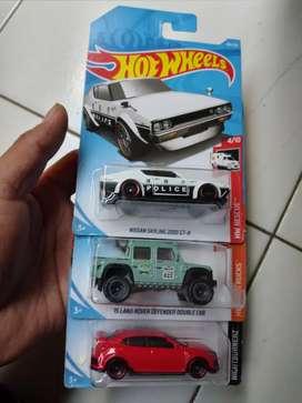 Hotwheels paket 3pcs