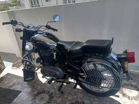 Genuine Bullet chrome with right side gear.  Royal Enfield
