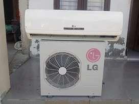 Jual AC LG 1pk. Harga sudah termasuk pemasangan dan bergaransi