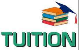 Tutor for English medium students only