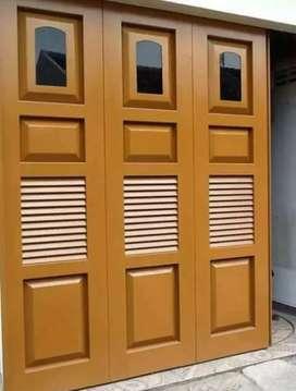 Juru pasang pintu press kayu berkualitas tinggi