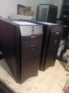 Sua1500i Apc Smart Ups and Online ups all models Available.