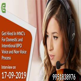 Hiring Domestic and International Voice and Non Voice for MNC's