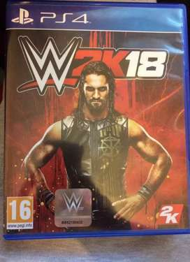 Ps4 game wwe 2k18
