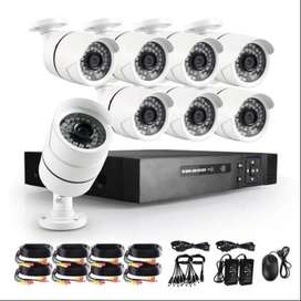 CCTV 8 Camera package with Installation contact(0,3,1,0,8,0,3,8,0,9,6)
