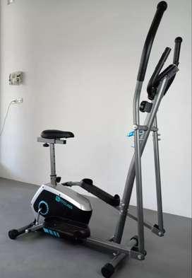 Crostrainer Elliptical Magnetic Bike 2in1 Gerakan, Pakai Panbelth. COD