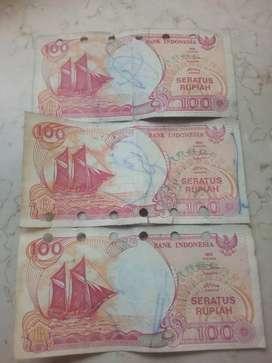 di jual murah uang kertas lama