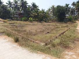 5.5 cents land with 2bhk  house at udyavara , just 2km away from NH66