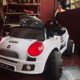 Mobil dorong/stroller anak mini cooper jual BU