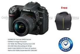 Kredit Nikon D7500 Kit AF-P DX 18-55mm F/3.5-5.6 G VR