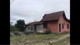 Dijual Murah Tanah Ladang+Rumah+Gudang+Kolam Semen+Sumur Bor Pmp Celup