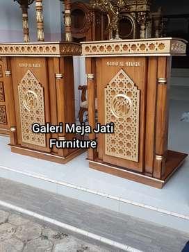 Mimbar masjid glory motif E836 kode