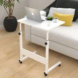 Adjustable Portable Laptop Table Trolley Sofa Bed Tray Computer