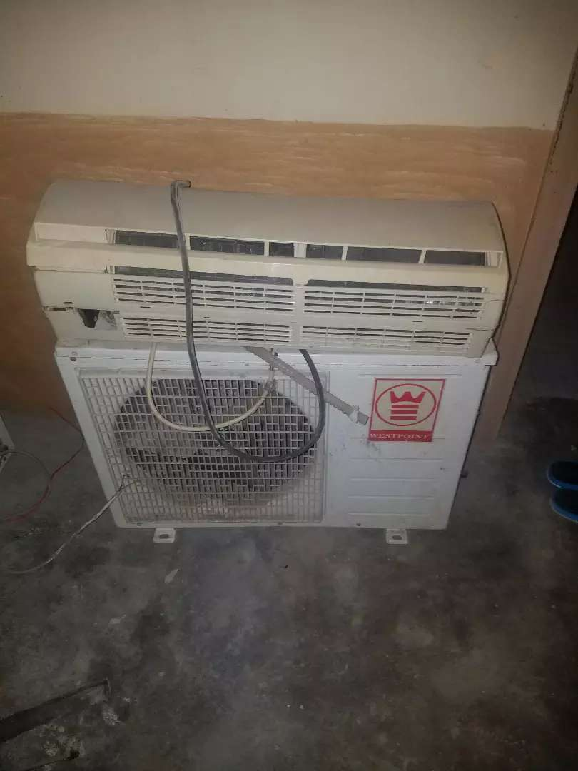 West point ac imported from USA, one ton. 3 month's warranty