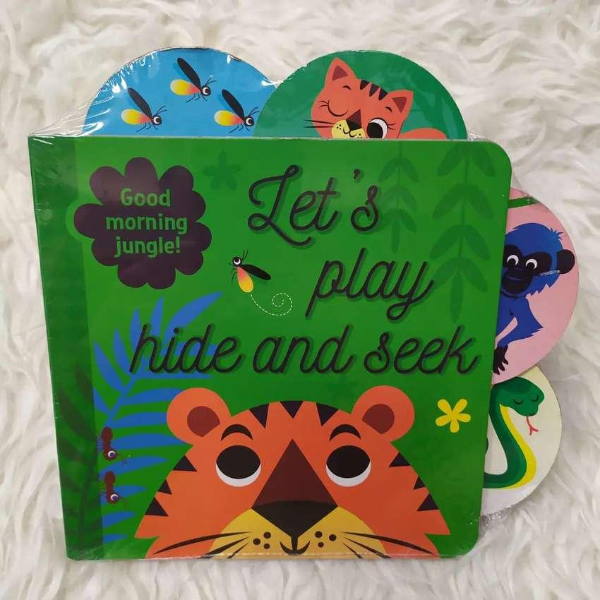 Buku Let's Play Hide Seek Boardbook Impor Batita BBW 0