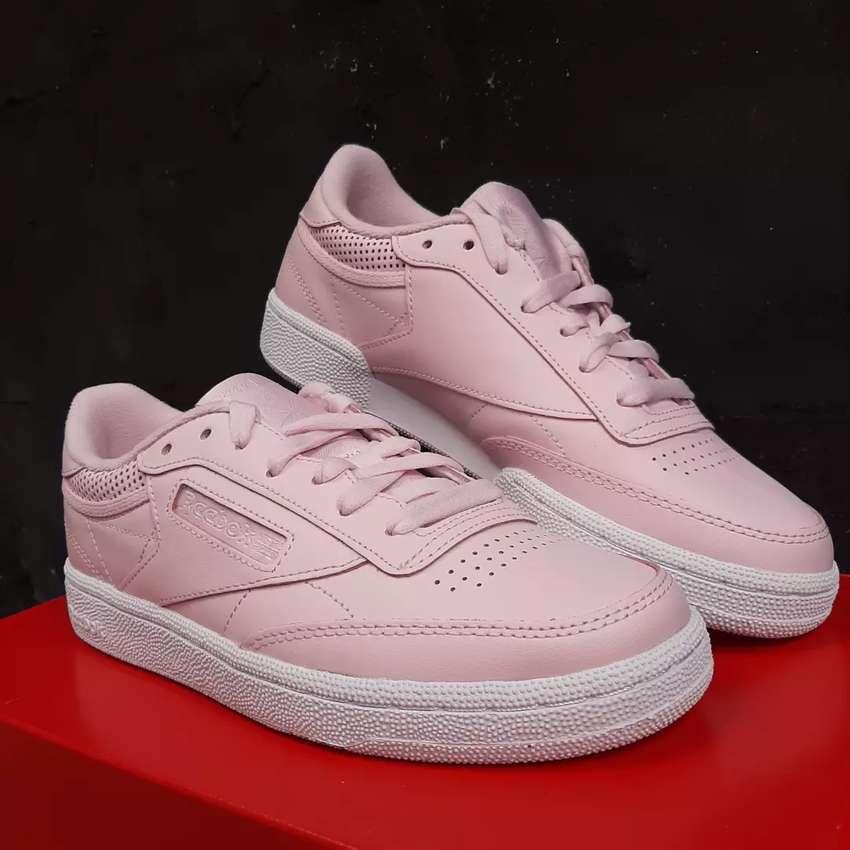 Reebok Sepatu Tenis Women Pink Original 0