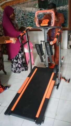 Promo awal tahun treadmill manual 5  fungsi
