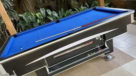 Menjual meja billiard & spare part billiard