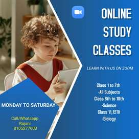 online classes for 1 to 12th