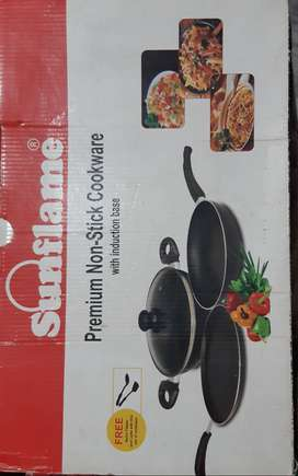 Sunflame premium  non stick cookware with Induction  base