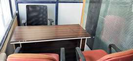 2 Private cabin + 10 workstation & waiting area Office Rent