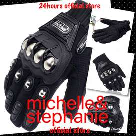 M&S MEN'S STUFF 13BRP - Sarung tangan motor pria hitam