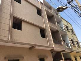 Independent house (30x20), 3 floors of 2bhk, total 6bhk, A khata, bore