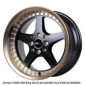 velg ARMBAR hsr ring 16 black bronze