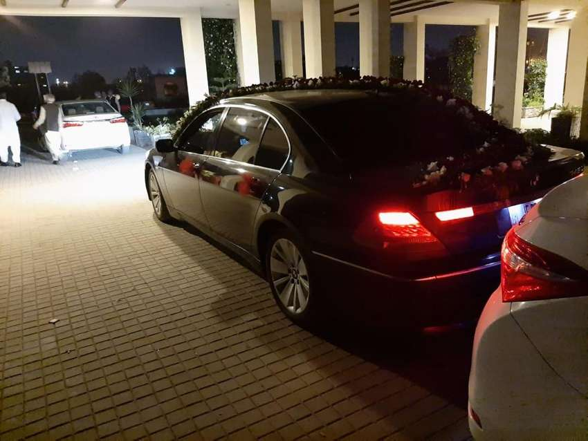 Bmw 7 series available for events 0