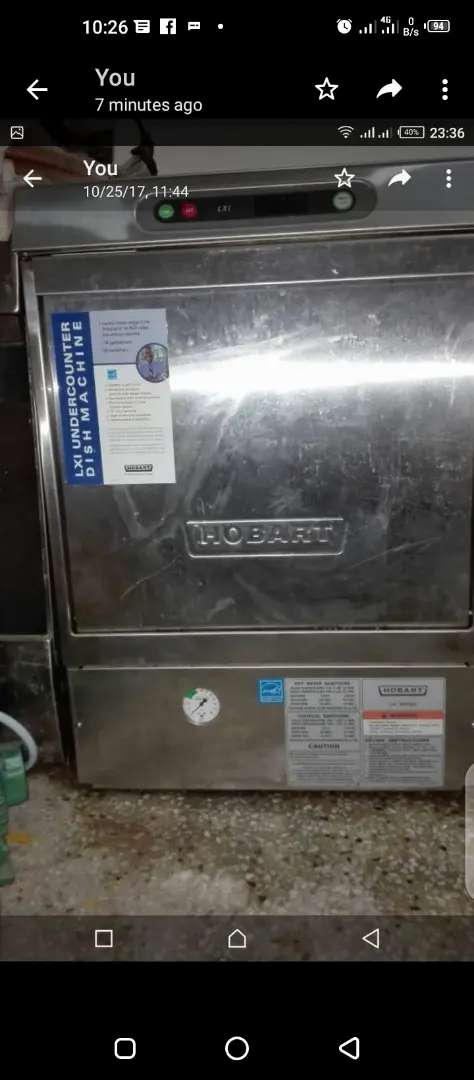 HOBART Dish washer for sale