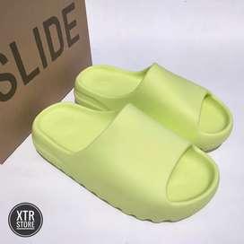 [UK 8] Yeezy Slide Glow Green (100% Authentic)