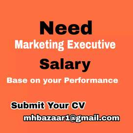 Need Marketing Executive